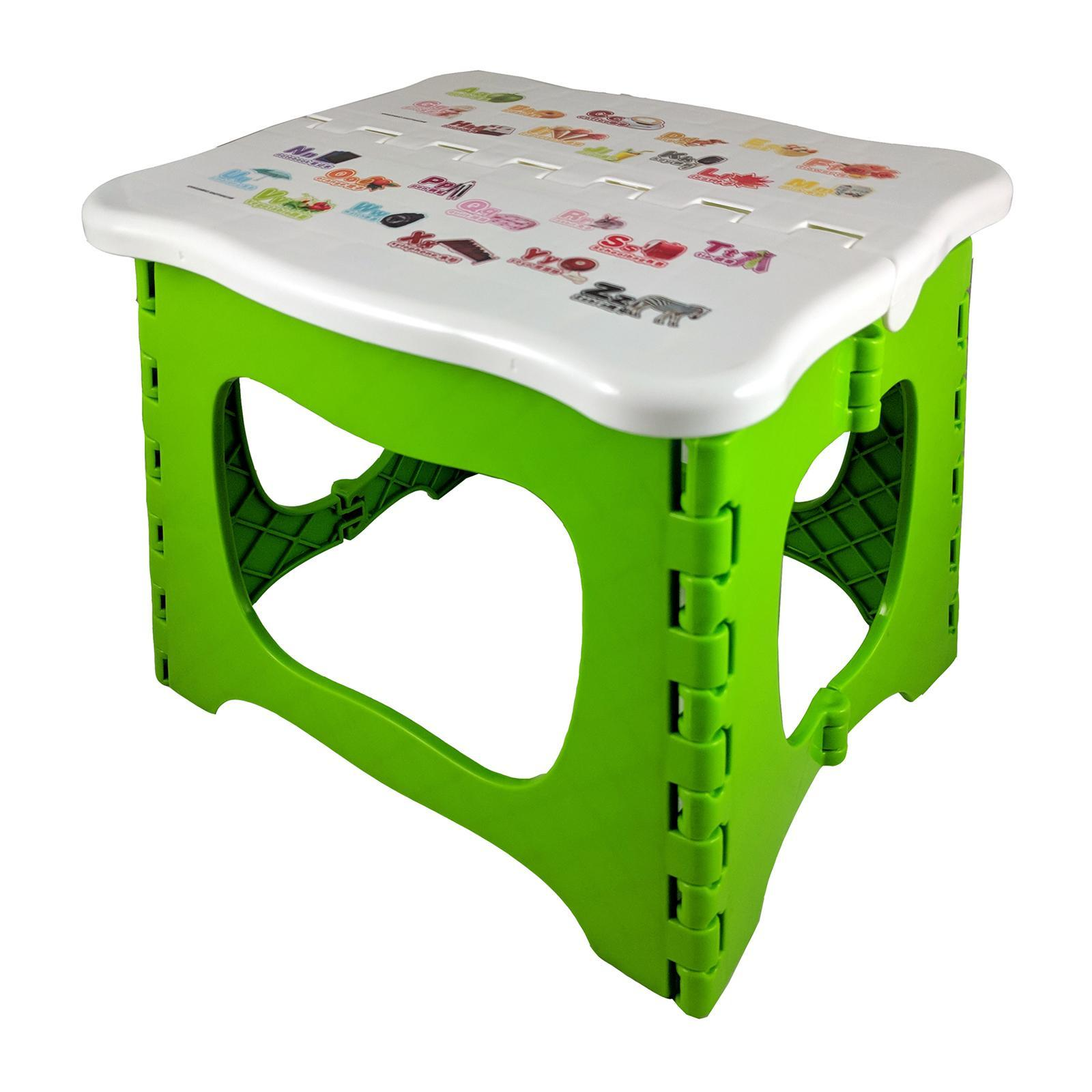 KangjiaBao Little Genius Plastic Foldable Stool 23 Cm (Green)
