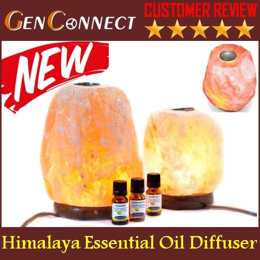 Himalaya Essential Oil Diffuser Salt Lamp