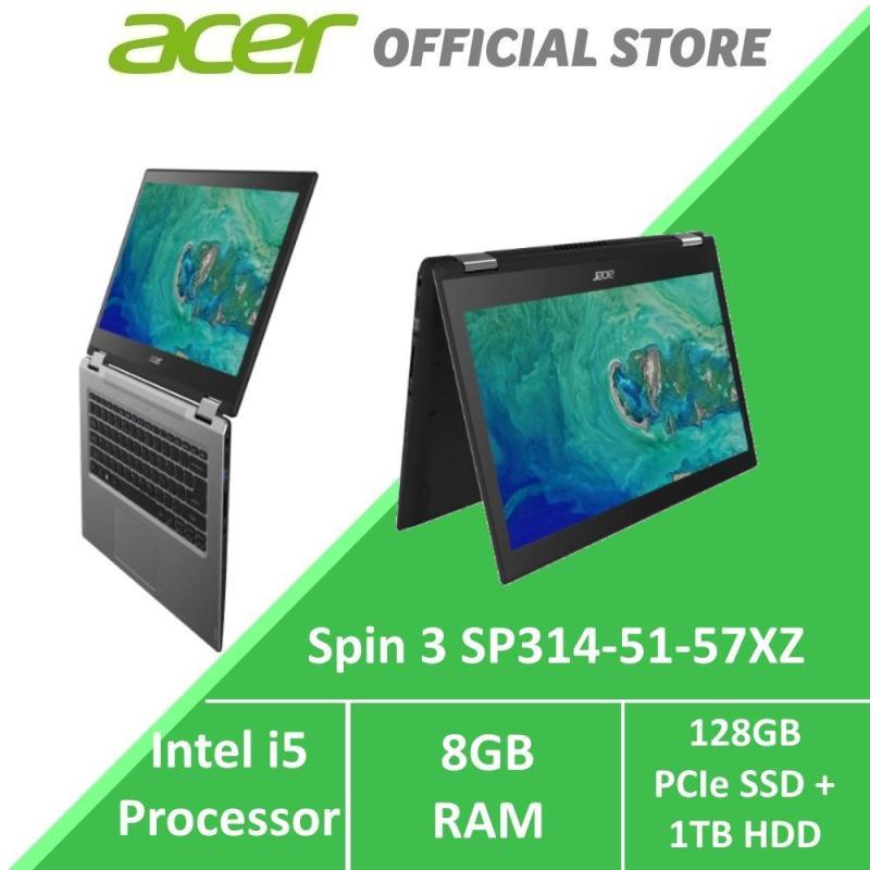 Acer Spin 3 SP314-52-57FR Convertible Laptop (Grey)