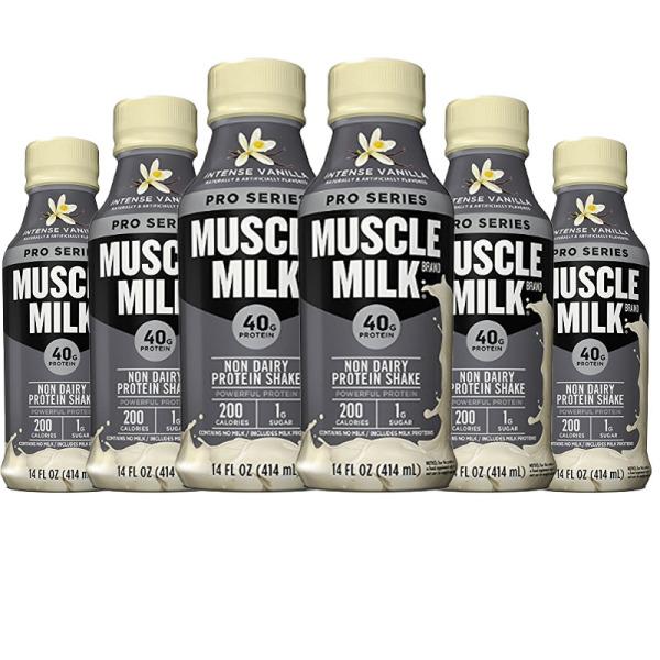 Buy Muscle Milk PRO Series Protein Shake (414ml) Intense Vanilla 6 Pack Singapore