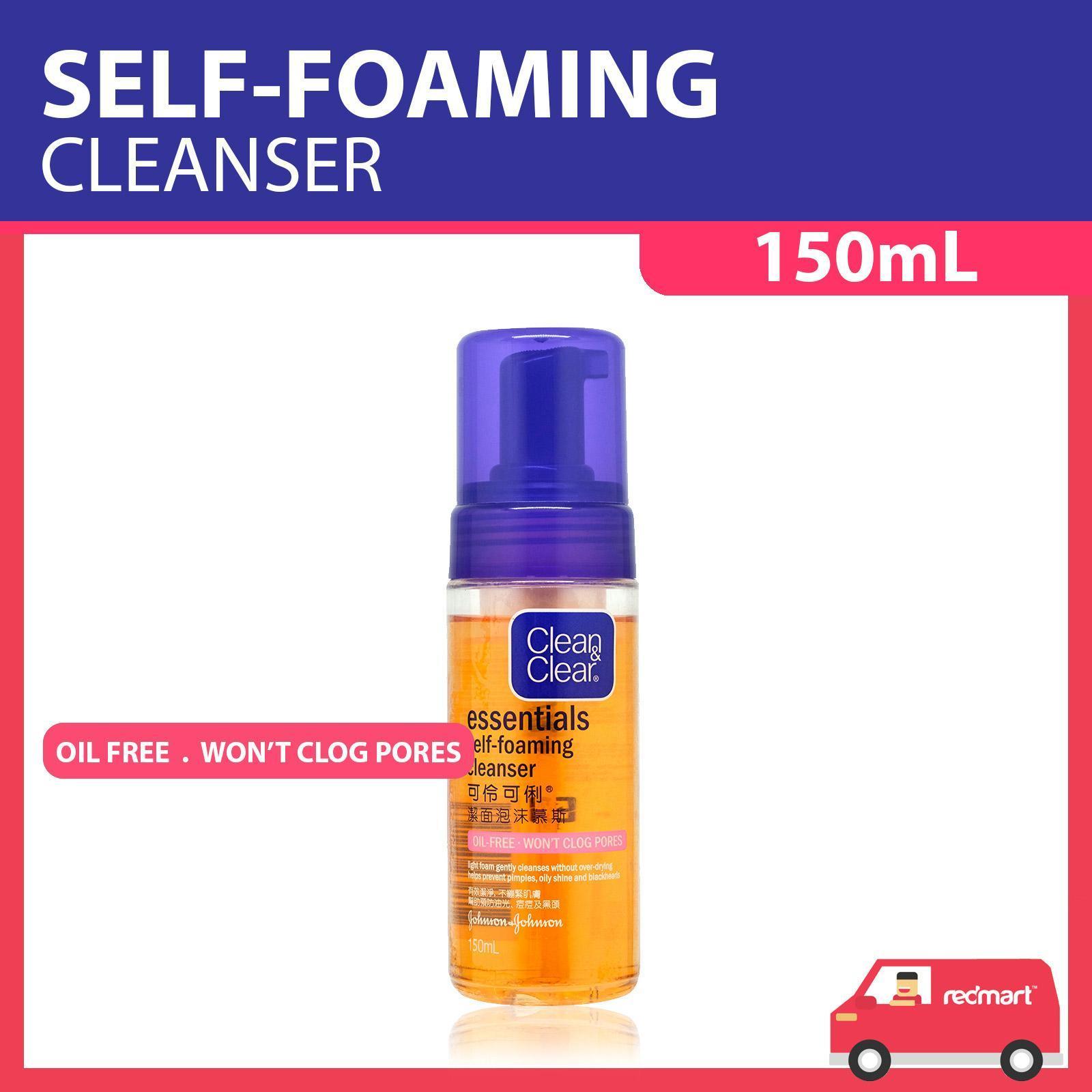 Clean & Clear Essentials Self-Foaming Oil-Free Cleanser