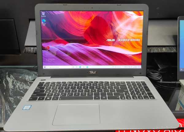 ASUS X556UA | SECOND HAND LAPTOP | i5-6200U | 12GB RAM | 240GB SSD | Intel HD Graphics 520 | 15.6inch | Glossy Screen Display
