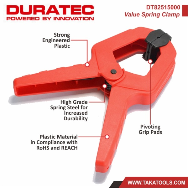 Duratec Value Spring Clamp DT82515000 - 4pcs