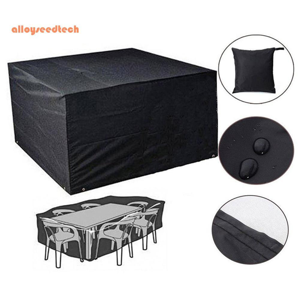 〔alloyseedtech〕LARGE WATERPROOF PATIO BBQ COVER OUTDOOR GARDEN BARBEQUE GRILL STORAGE PROT