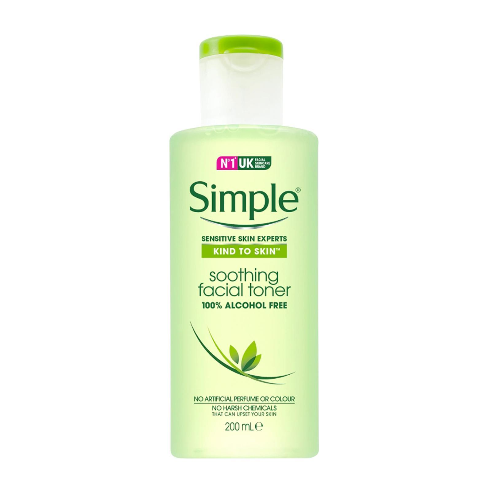 Simple Soothing Facial Toner - By Beauty Language