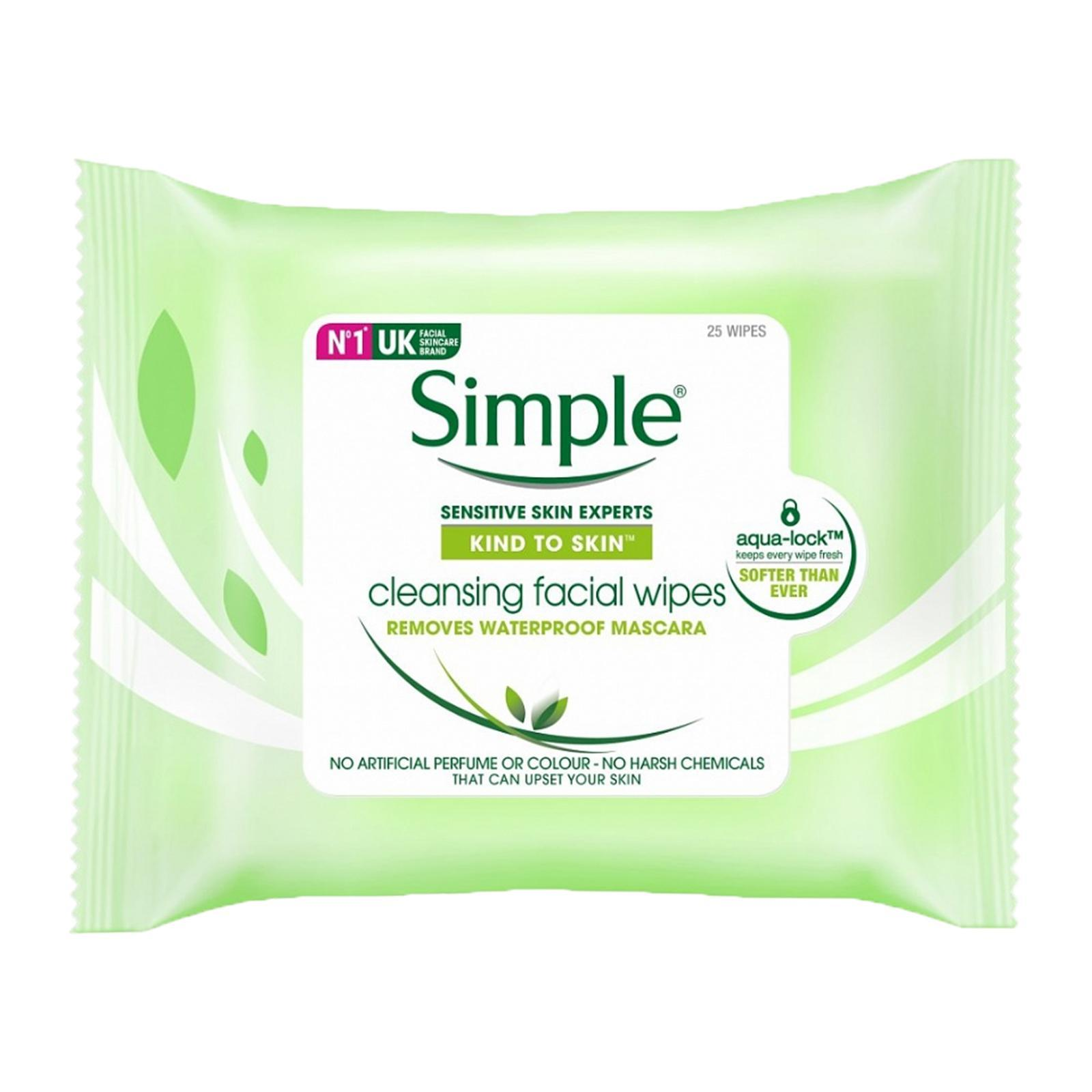 Simple Cleansing Facial Wipes(Sensitive Skin) - By Beauty Language