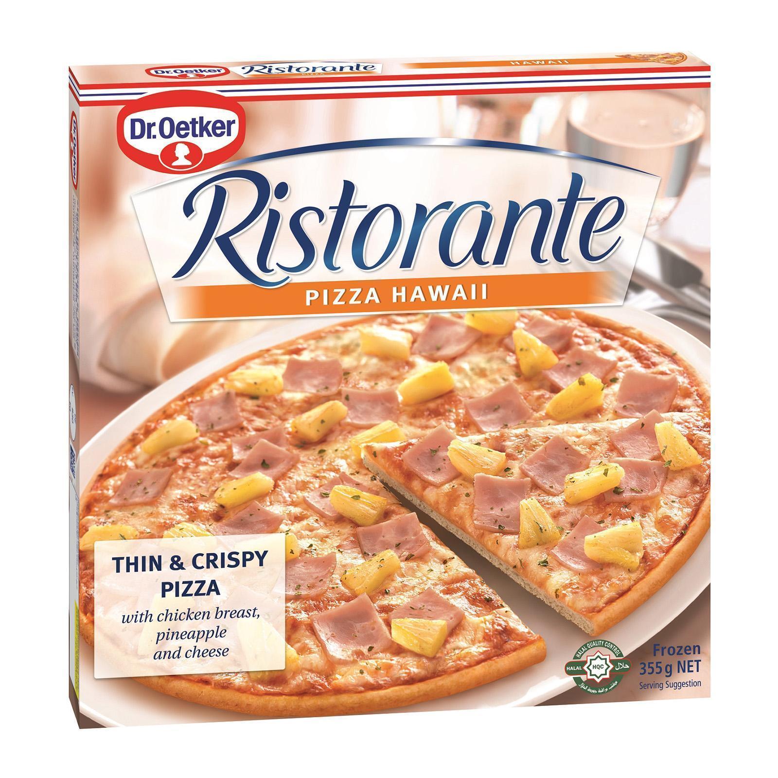 Dr Oetker Ristorante Hawaii Pizza - Frozen