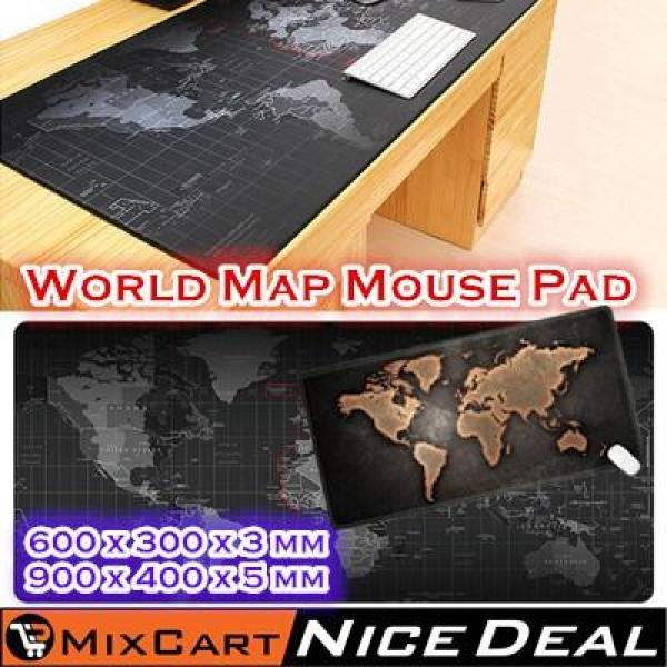 Mixcart Old World Map Mouse Pad Large Notbook Computer Mousepad Gaming Mouse Office Desk Thick BIG