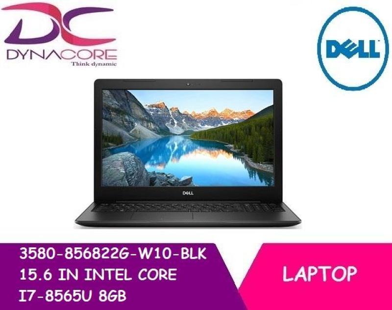 DELL 3580 856822G W10 BLK 15.6 IN INTEL CORE I7-8565U 8GB 256GB SSD WIN 10