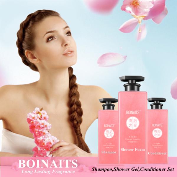 Buy Boinaits Shower Foam Shampoo Conditioner Bathing Set Shower Gel Glitter Quicksand Hair Body Wash Singapore