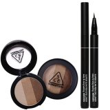 Best Price 3Ce Triple Shadow Super Slim Pen Eye Liner Brown Bundle