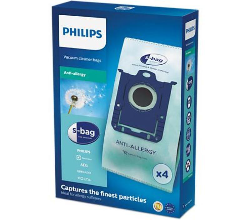 Philips S-Bag Vacuum Dustbags FC8022/04 Singapore