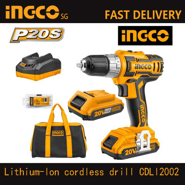 INGCO CDLI2002 Lithium-Ion cordless drill