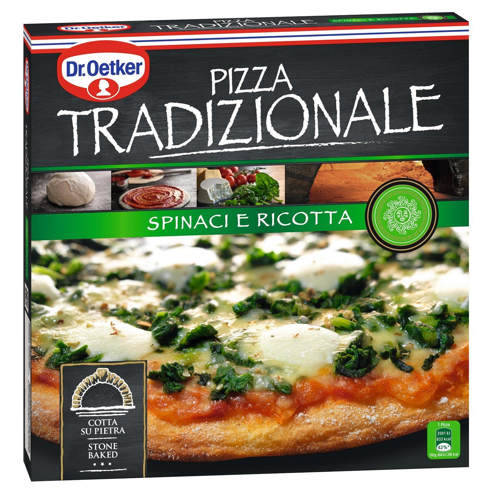 Dr Oetker Tradizionale Spinaci Ricotta Pizza - Frozen