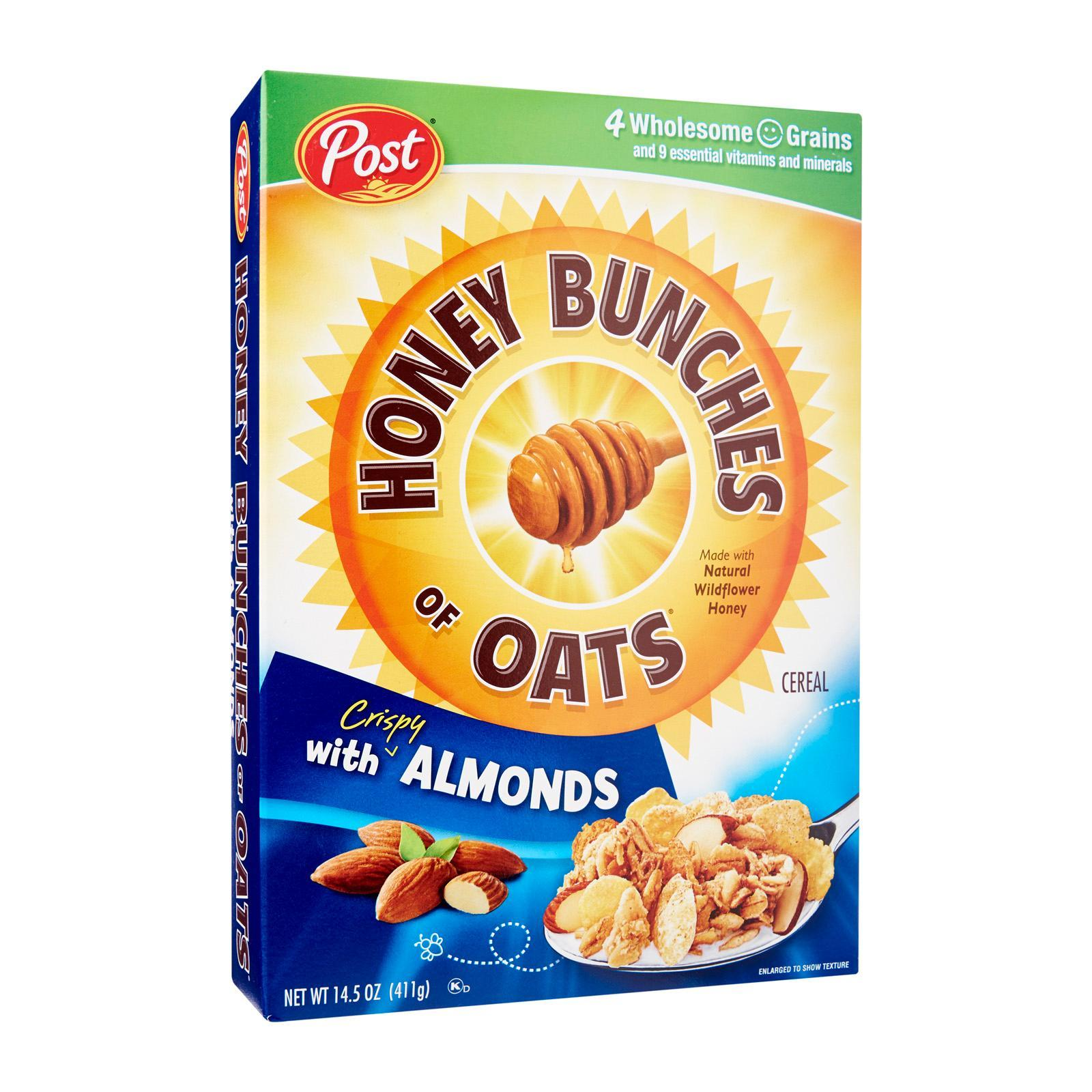 Post Honey Bunches of Oats with Almonds Whole Grain Cereal
