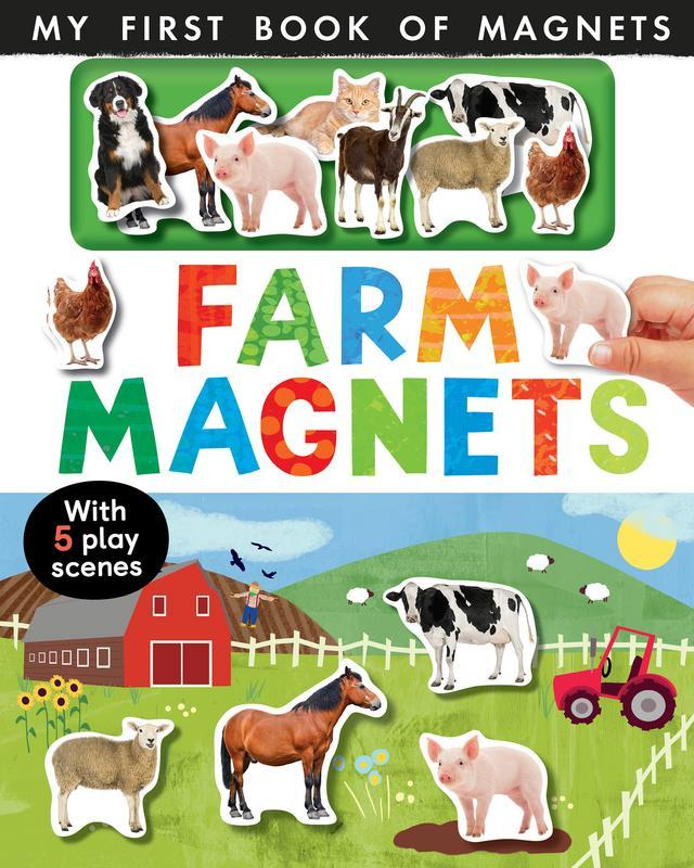 Farm Magnets by  Nicola  Edwards