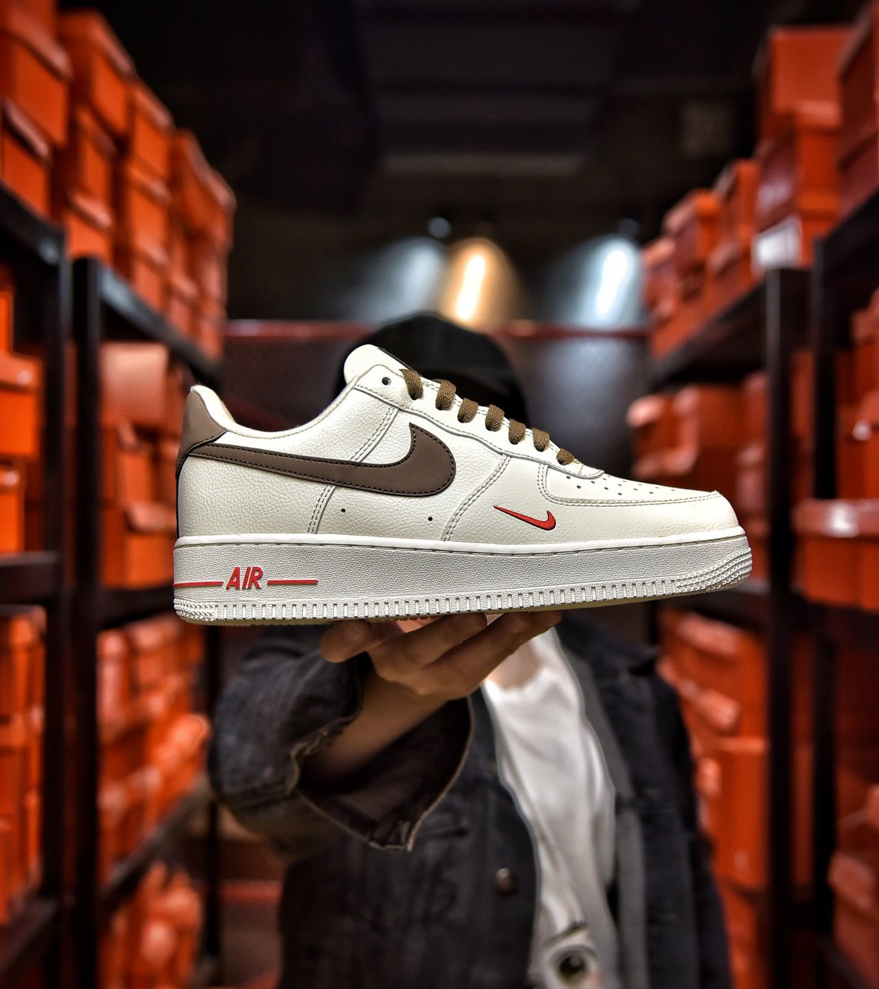 Nike Air Force 1 Low Id Mens Skateboarding Shoes Womens Skateboarding Shoes Lovers Skateboarding Shoes Casual Skateboarding Shoes Sports Skateboarding Shoes.