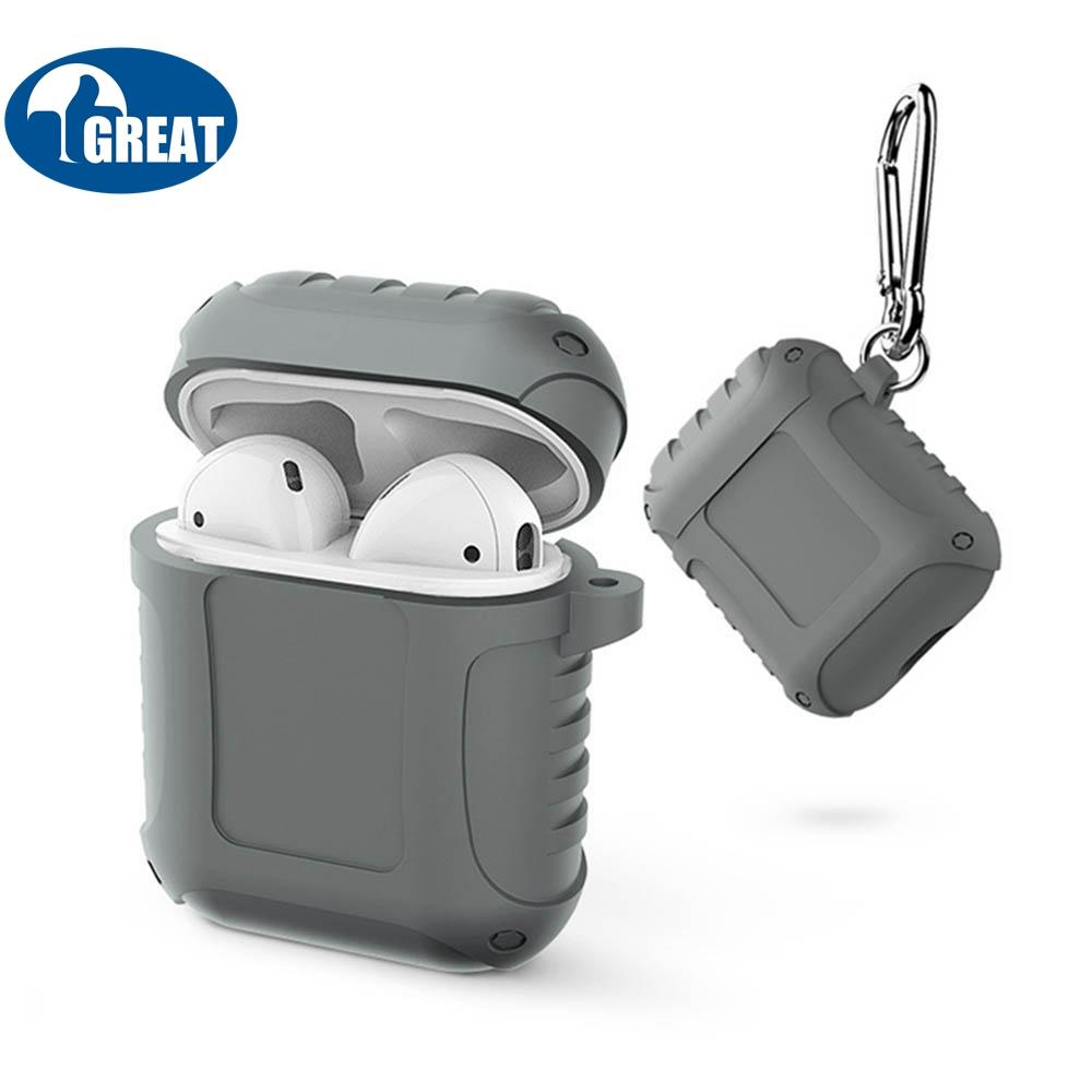 b7cb921b3b0 Goodgreat Premium Quality Waterproof Shock Resistant Silicone Case Cover  For Apple Airpods By Good&great.