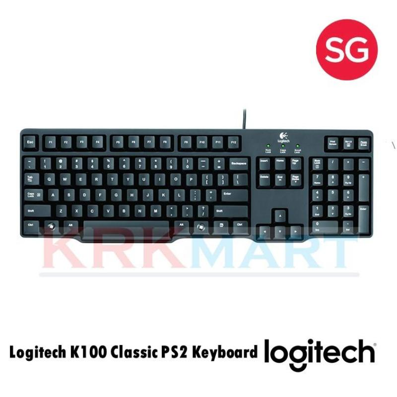 Logitech K100 Classic PS2 Keyboard Singapore