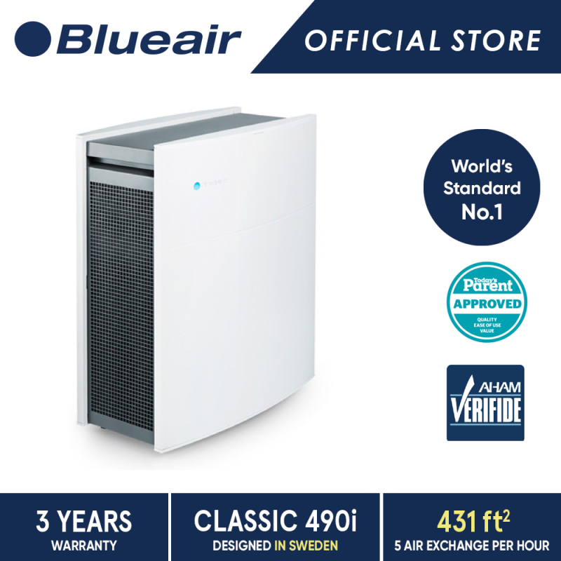 Blueair Air Purifier Classic 490i with DualProtection Filter Singapore