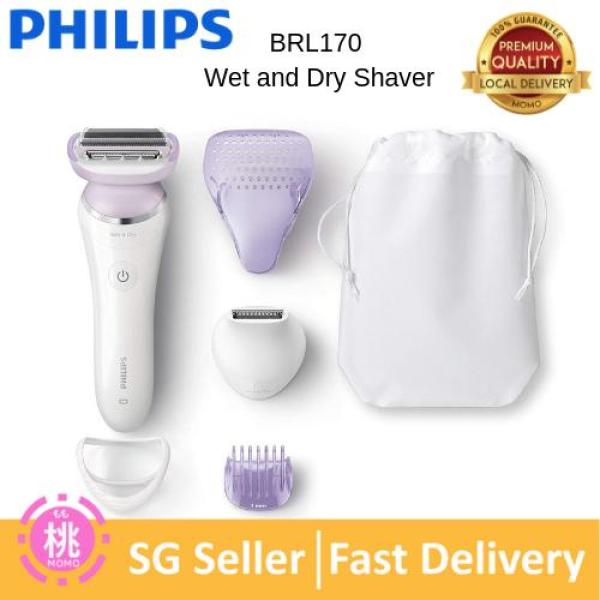 Buy Philips SatinShave Prestige Wet n Dry Electric Lady Shaver with 5 Accessories - BRL170 Hair Removal Singapore
