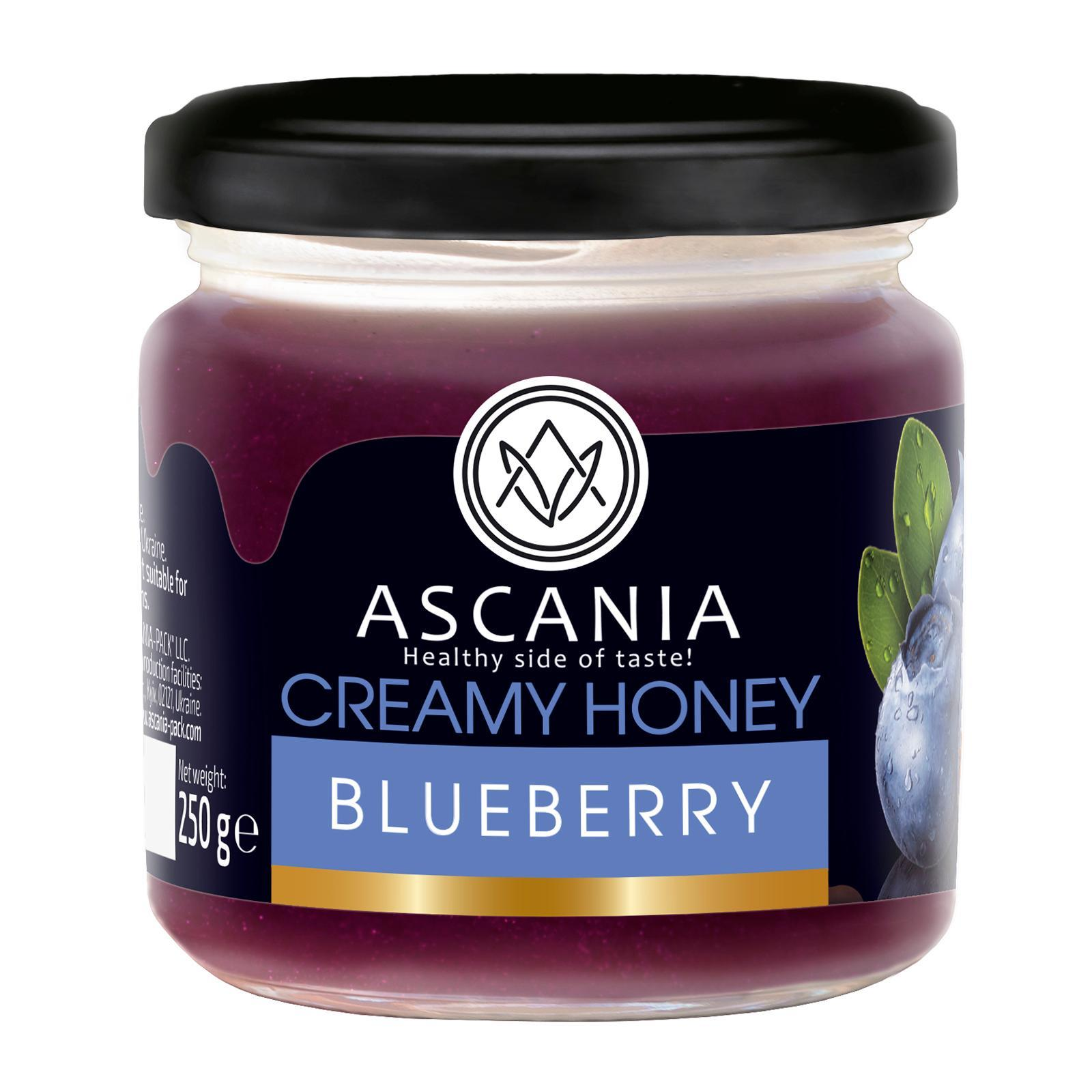 Ascania Creamy Honey With BLUEBERRY