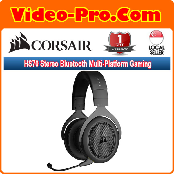 Corsair HS70 Stereo Bluetooth Multi-Platform Gaming Headset CA-9011227-AP