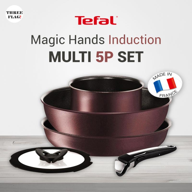 Tefal Magic Hands Induction Multi 5P Set Singapore