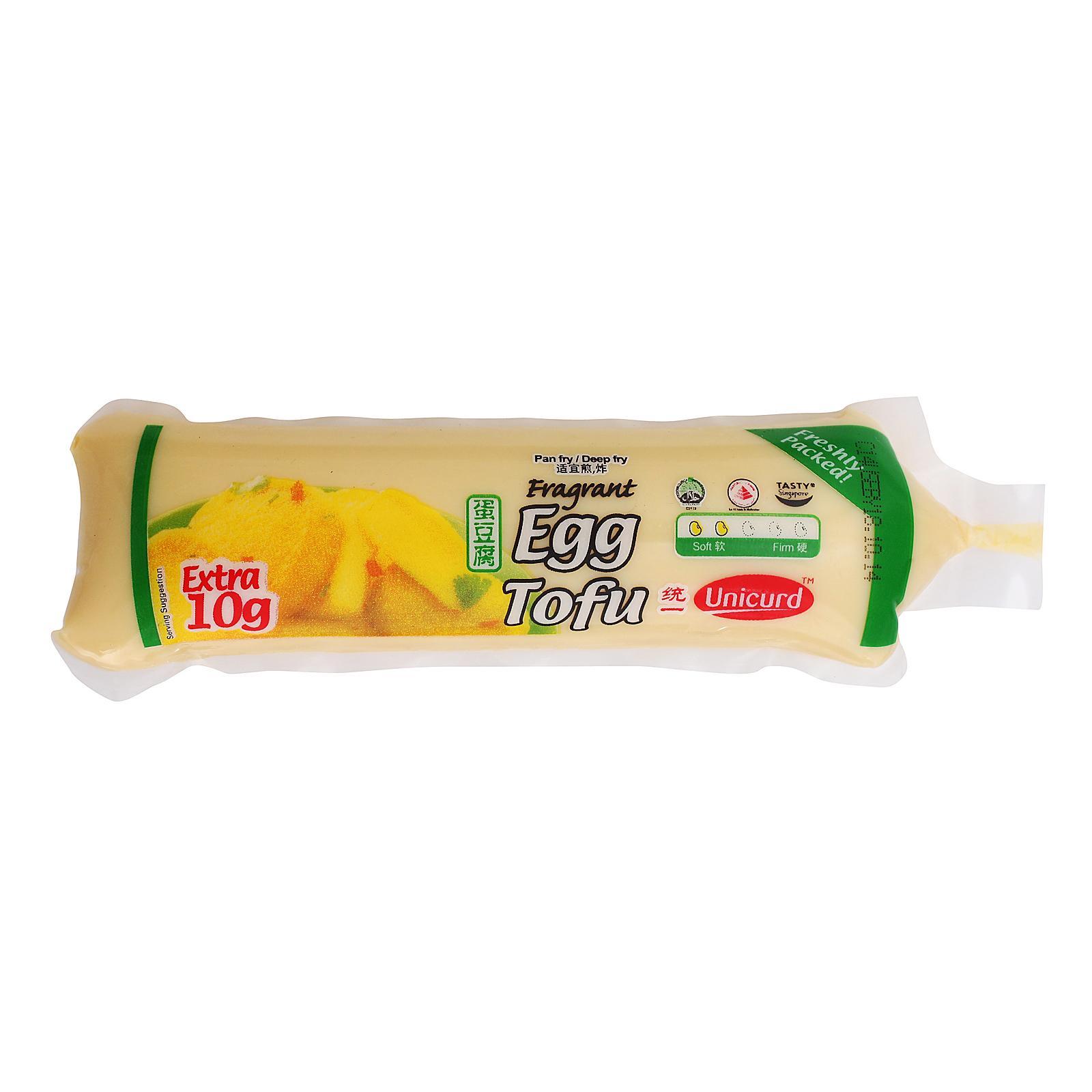 Unicurd Egg Tofu (tube) By Redmart.