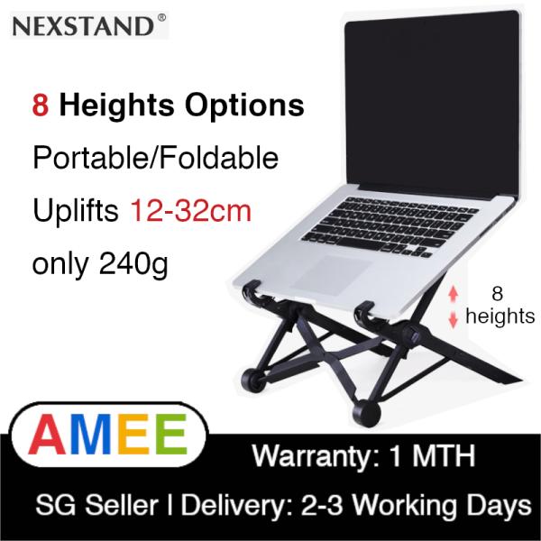 NEXSTAND K2 Laptop Stand Portable Adjustable Eye-Level Ergonomic Light Weight Macbook Stand Mount Holder