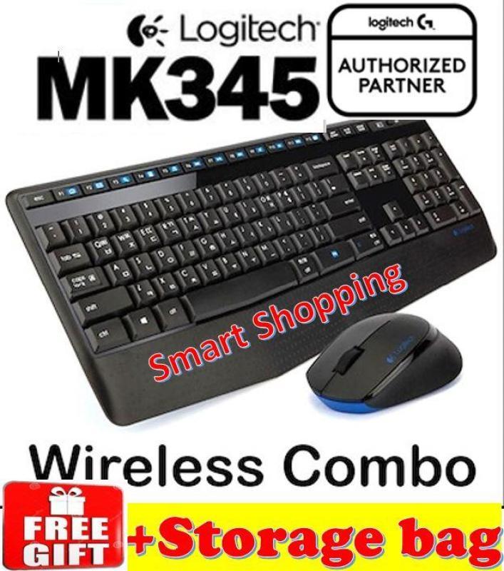 [Free Gift] Logitech MK345 Keyboard Mouse Wireless Combo set KB MK 345 Singapore