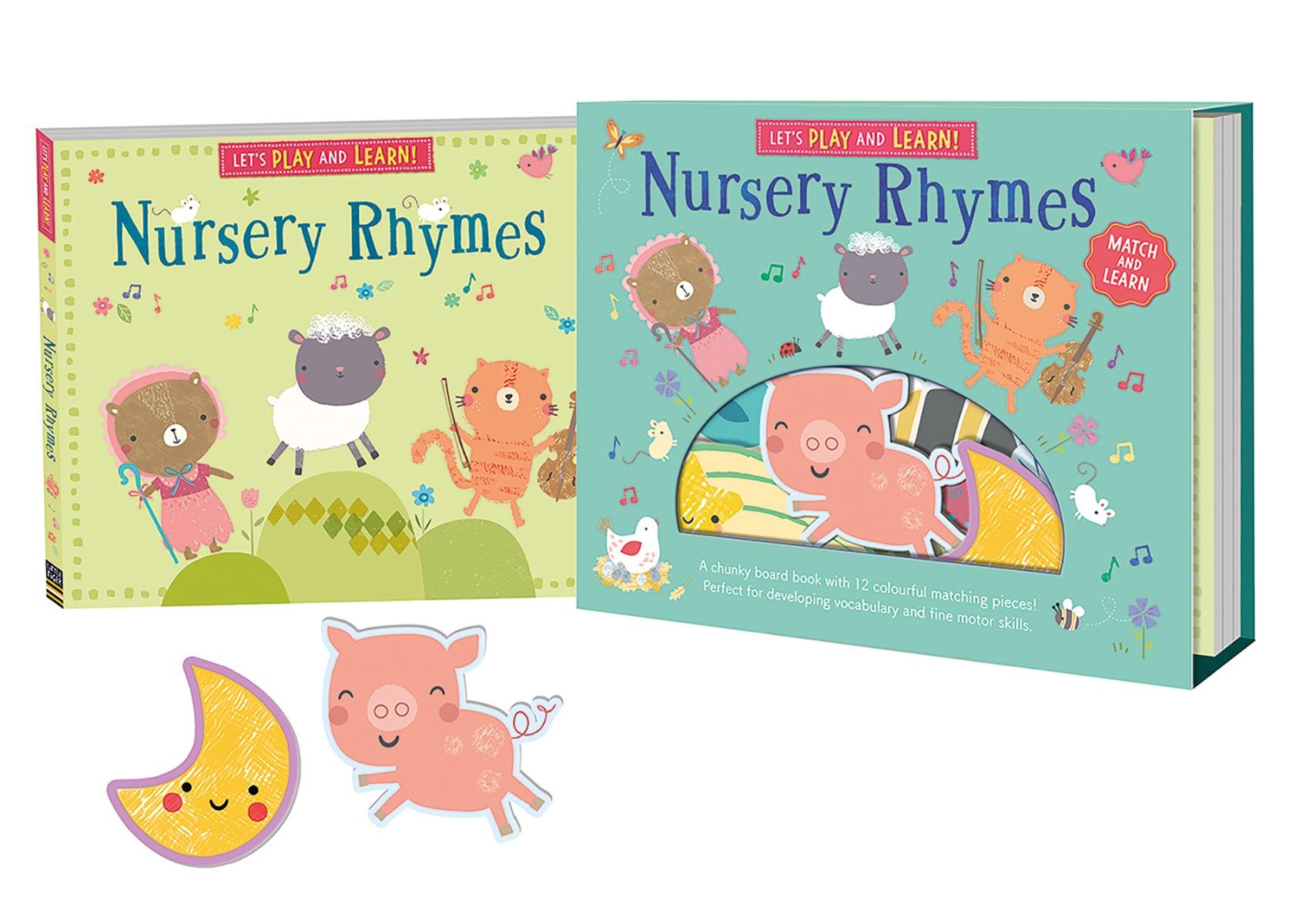 Lets Read, Play and Learn: Nursery Rhymes by Genine Delahaye