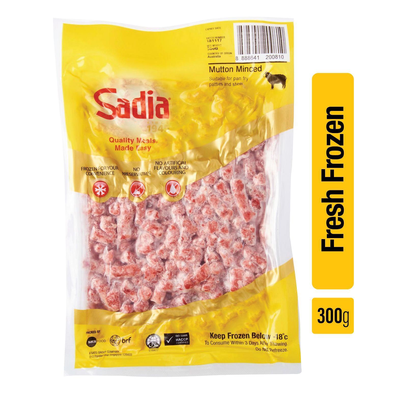Sadia Mutton Minced - Frozen