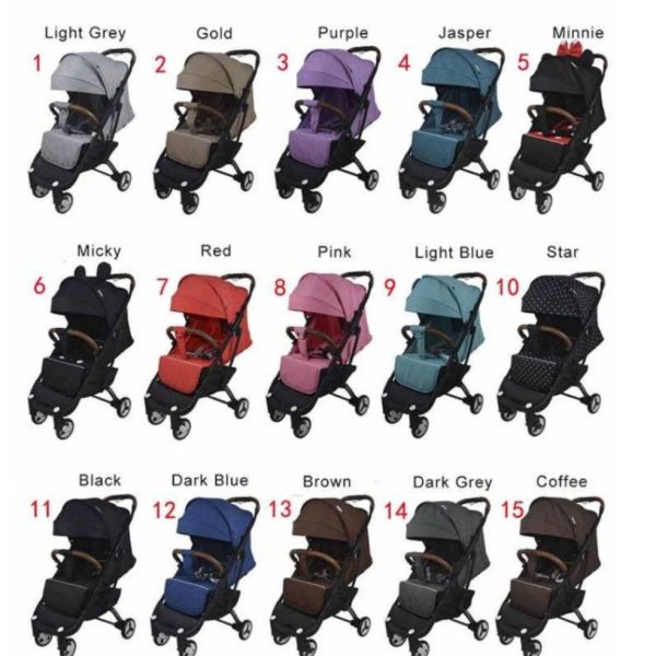 LOCAL STOCK Cabin Approved Travel Stroller Yoya Plus 3 Singapore