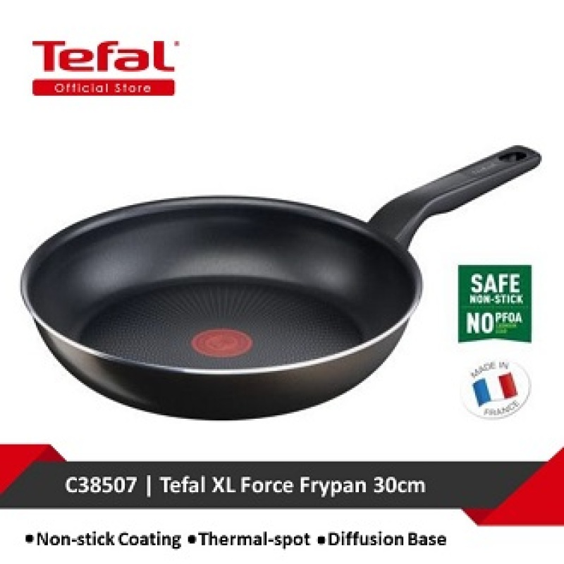 C38507-3168430319745 : Tefal XL Force Frypan 30cm C38507 Singapore