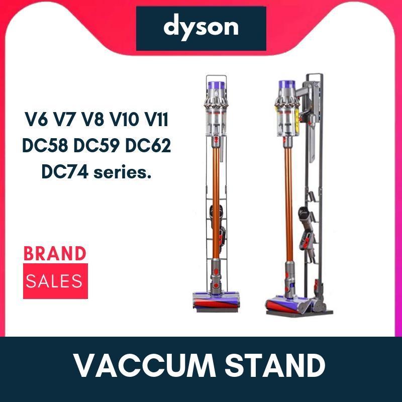 Metal Stand no drilling for Dyson Vacuum Cleaner suitable for V6 V7 V8 V10 V11 DC58 DC59 DC62 DC74 series. Singapore