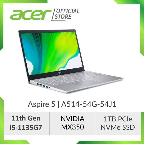 [NEW MODEL] Acer Aspire 5 A514-54G-56A4/54J1 (Blue/Silver) - 14 FHD IPS Laptop with Latest 11th Gen i5-1135G7 Processor I12GB RAM I 1TB SSD