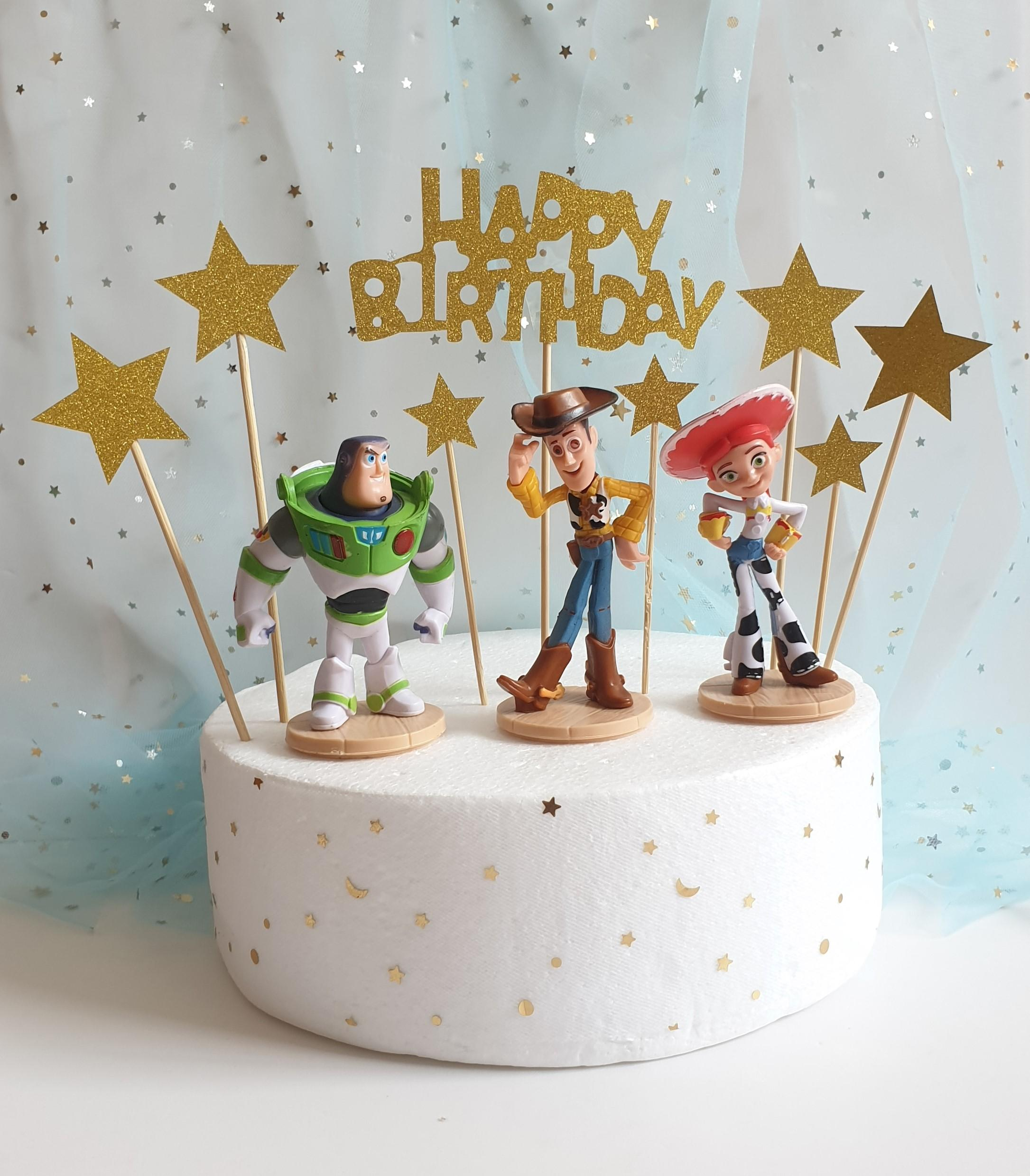 Cake Toppers, Toy Story Cake Decoration, Birthday Decoration, Cake Banner By Happy Market.