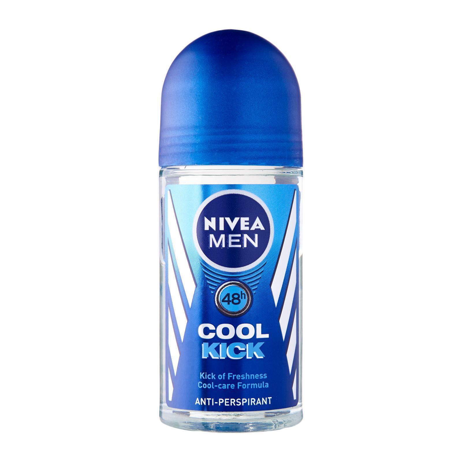 Nivea for Men Cool Kick Anti-Perspirant Roll-On