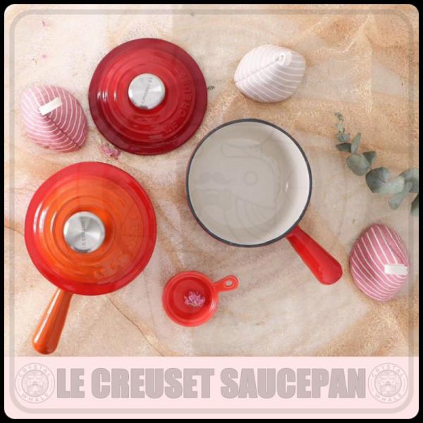 Le Creuset Cast Iron Round Iron Handle Saucepan with Lid (16cm) Singapore