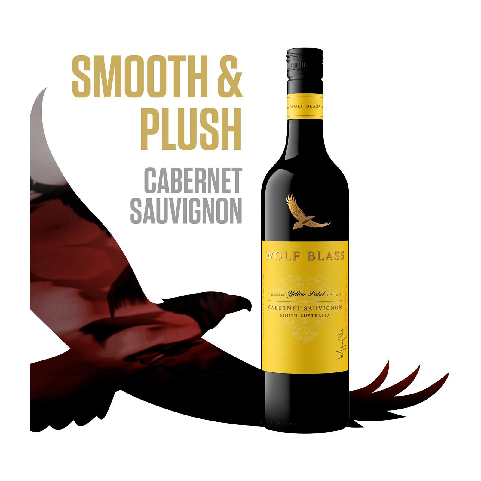 Wolf Blass Yellow Label Cabernet Sauvignon Smooth Red