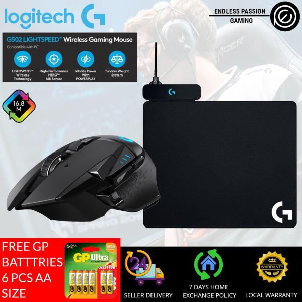 Logitech G502 Hero Lightspeed Wireless Gaming Mouse [FREE G240 + 24 hours delivery]