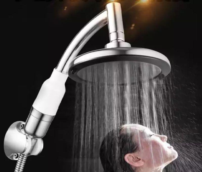 Buy Pressurized shower shower nozzle pressurized shower head, shower nozzle, water-saving shower shower Singapore