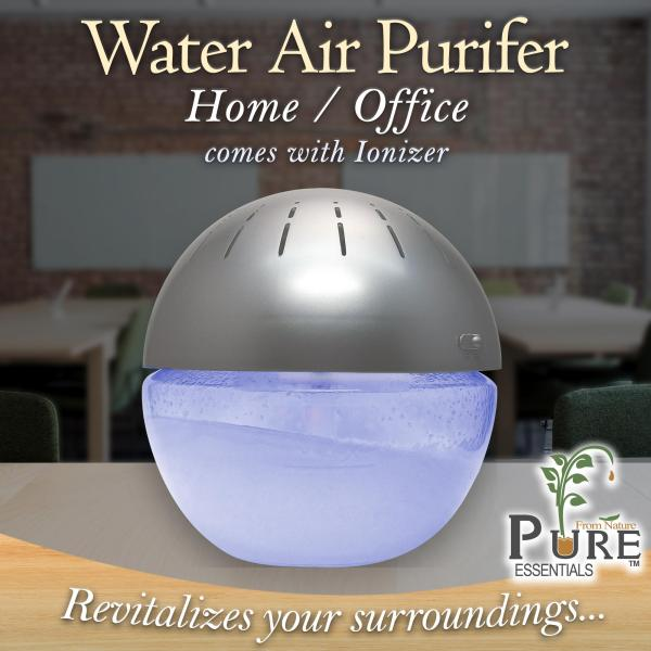 Pure™ Water Air Purifier ● With Ionizer and Light Singapore
