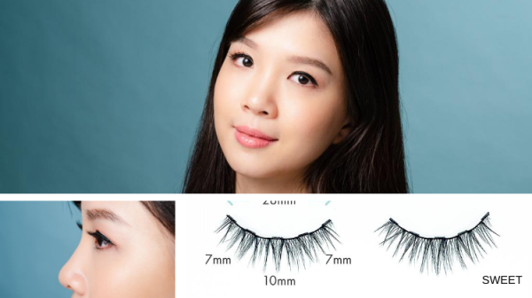 Buy [Design: SWEET] The LashDresser Magnetic Lashes Singapore