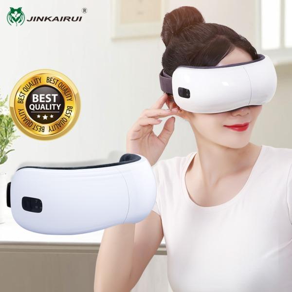 Buy Jinkairui Eye Massager Electric Air Pressure Heating Massage with Music Portable Eye Protection Singapore