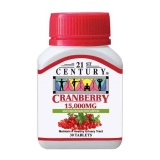 Best Price 21St Century Cranberry Extract Tablets 15 000Mg Per Tablet
