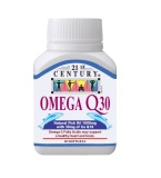 Buy 21St Century Omega Q30 Fish Oil 1000Mg 30Mg Of Co Enzyme Q10 30S Singapore