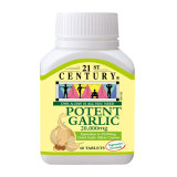 Sale 21St Century Potent Garlic 20 000 Mg 60 S Online On Singapore