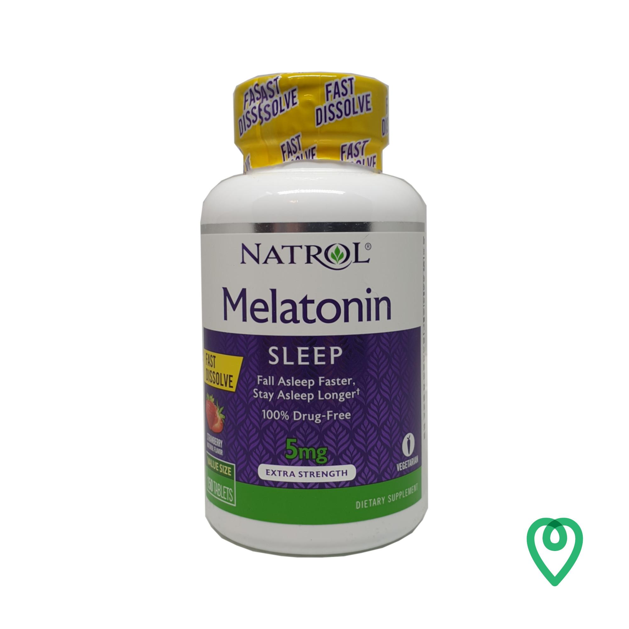NATROL MELATONIN FAST DISSOVLE 150 TABLETS